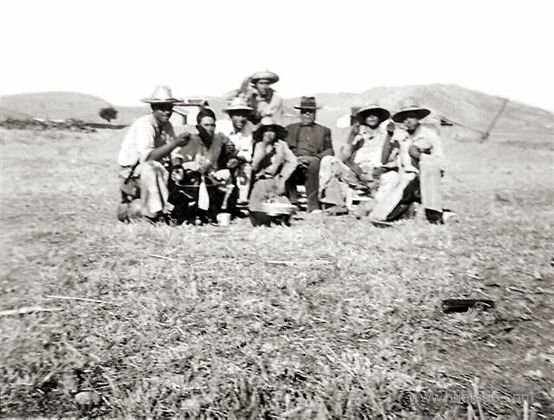 Segadores en el Llano