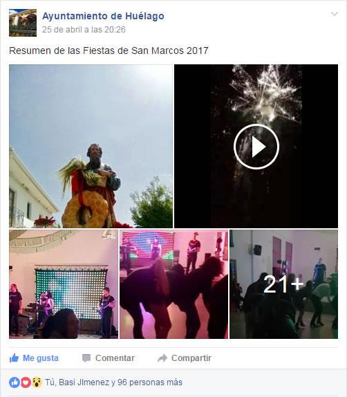 Fiesta San Marcos en Facebook